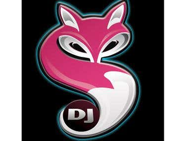 Cool DJ logo / t-shirt design