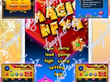 Magic Hexa iPhone/iPad Game