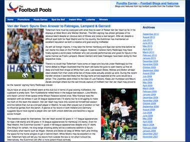 The New Football Pools articles