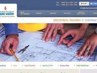 Website clearvisionarabia.com
