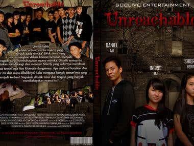 Movie Cover Design for DVD