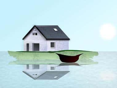 Vector Art of Home
