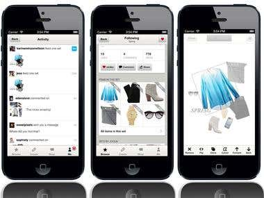 Online ShoppingMall iPhone App