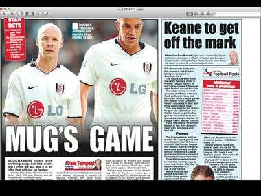 My Daily Star 'Starbets' column