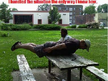 PLANKING at the PARK