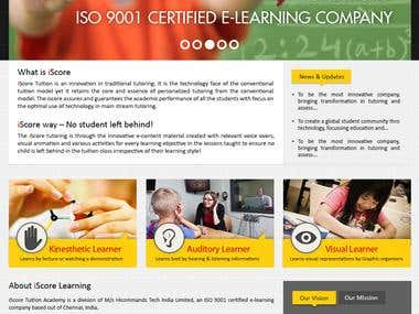 iScore Learning
