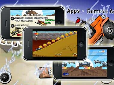 Monster Hill Climb iPhone/iPad Game