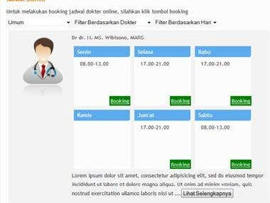Booking Doctor Online
