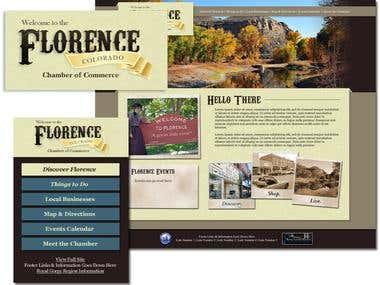 City of Florence, CO Website & Identity Design