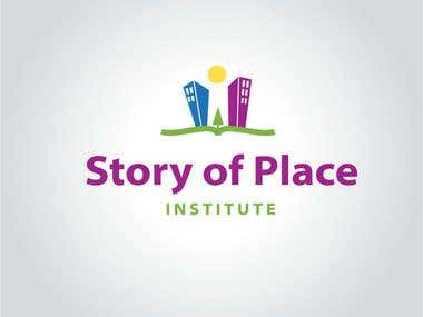 Story of Place Institute Identity Design