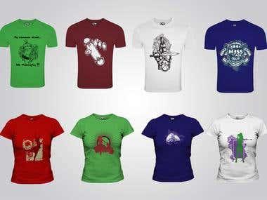 T.shirt designs