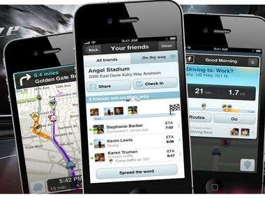 Waze GPS Tracker