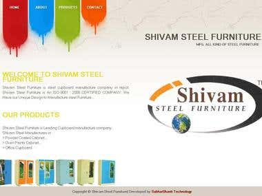 Website Of Shivam Steel Furniture...