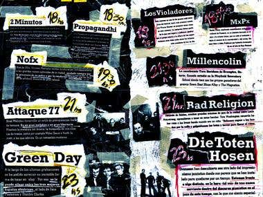 Punk Fest Brochure Interior