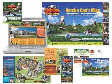 Adventure Golf and Raceway Seasonal Campaign