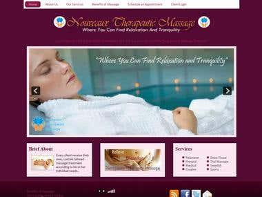 Website for Nouveaux Therapeutic