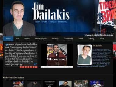 Jim Dailakis Website