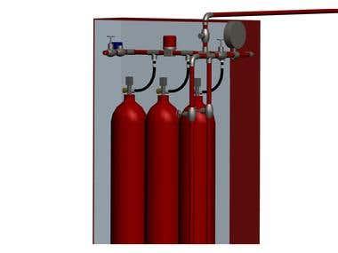 Cylinders 3D Model