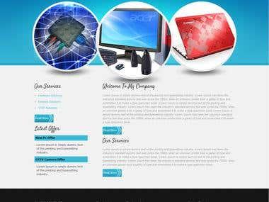 Website Designing Portfolio