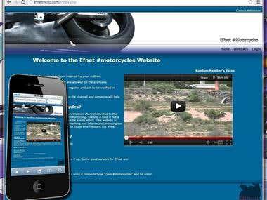 Efnet #motorcycles motorcycle club website.