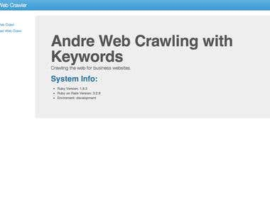 Web Crawler/Scapping tool