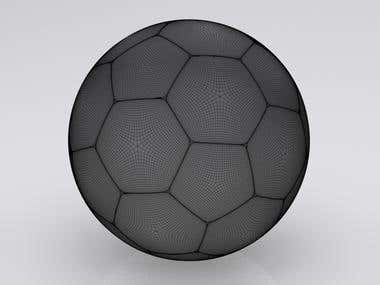 High  detail  Ball model