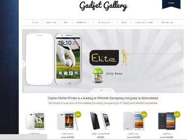 Wordpress Design (E-Commerce)
