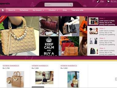 Wordpress E-Commerce Website ( Woocommerce Platform)