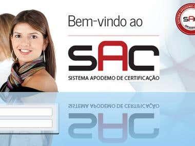 SAC intranet design