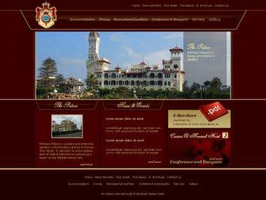 Montzah Hotel Website