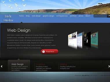 Design: Safe Harbor Internet
