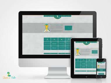 Share a Tale UI design