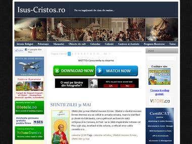 Isus-Cristos.ro - website