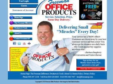 Web Desidn: Freeman Office Products