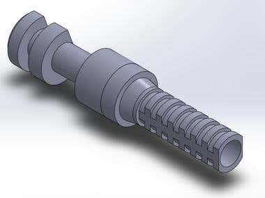 .STL file of dental parts