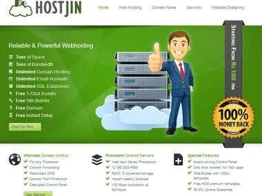 Host Jin - Webhosting Solutions