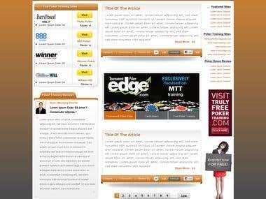 WebSite layout1