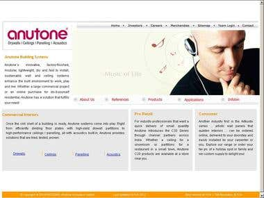 Search Engine Optimization - Anutone.com