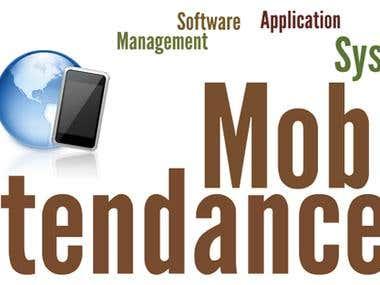 Mobile Based Attendance System (J2ME, J2EE)