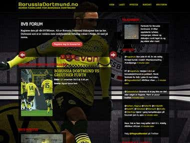 Borussia Dortmund Fan Club website