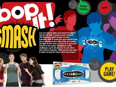 Bop It Smash (Flash Game for Hasbro)