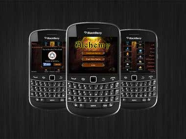 Alchemy Game for BlackBerry Smartphones