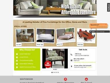 Southwood: Drupal based furniture marketing website