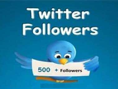 500 Twitter Followers Add