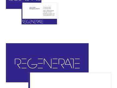 Property Development Branding Project 'REGENERATE'