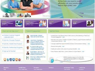 Healthcare Communications Network Portal: Drupal