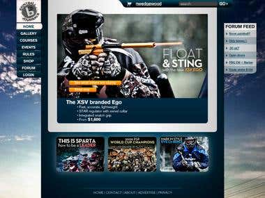 Paintball Journals, USA