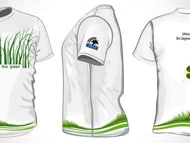 T Shirt Designing and Manufacturing