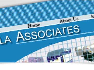 ambalaassociates.com Dynamic Website Design