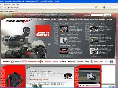 shox website